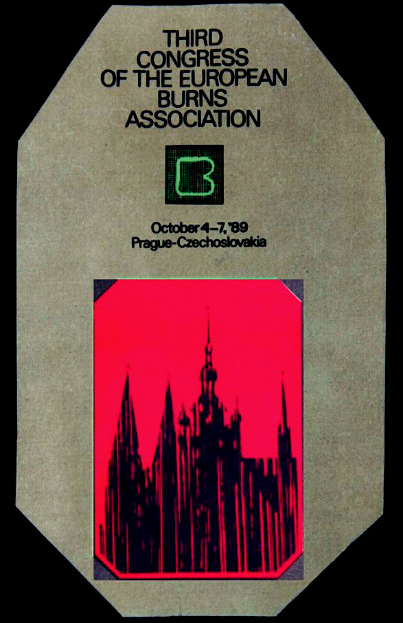The last Congress in Czechoslovakia within closed frontiers was the Third E. B. A. Congress in Prague organized by the European Burns Association (E.B.A.) in 1989, October 4–7, with a great attendance from abroad